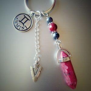 Accessories - Gemini Keychain